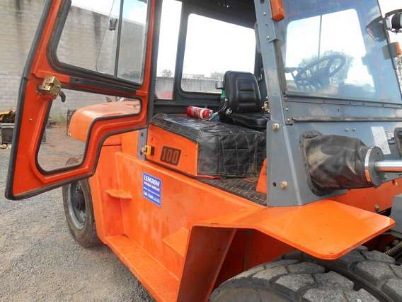 Used Container Forklift 10000kg with Full Cabin