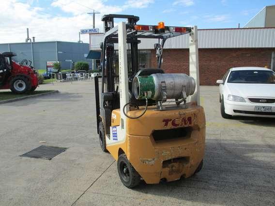 Dual Fuel Forklift