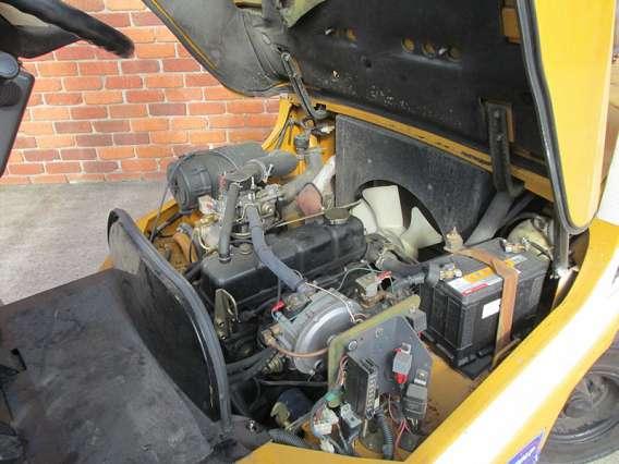 Used TCM LPG Forklift 3000kg