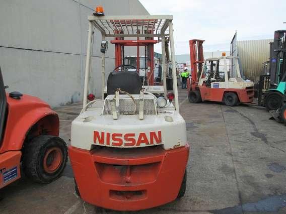 Used Nissan Forklift LPG 4000kg