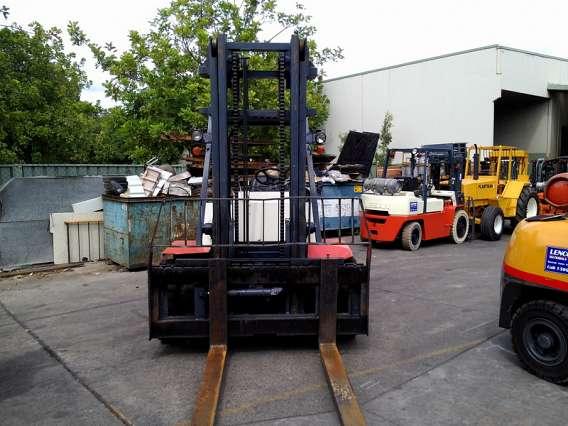 Used Nissan LPG Forklift 6000kg