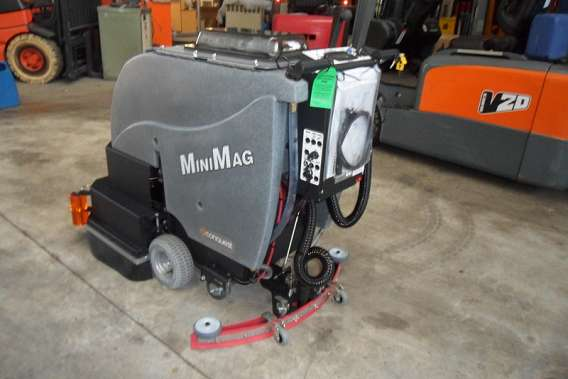 Used Conquest Walk Behind Floor Scrubber