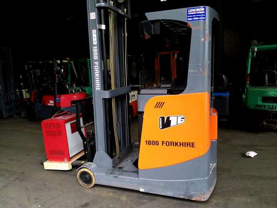 Used Reach Truck 1600kg Sit Down