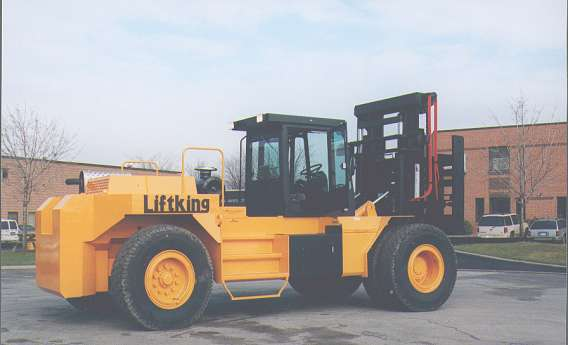 High Capacity Rough Terrain 20,000kg LK Series