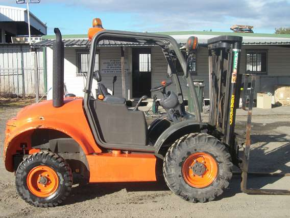 Suitable Outdoor All Terrain Forklift