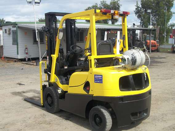 Used Hyster Forklift Container Entry 2500kg