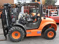 All Terrain Masted Forklift