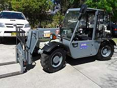 All Terrain Diesel Telehandler 2500kg