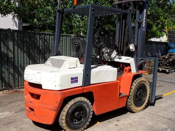 Petrol/LPG Forklifts 3500kg