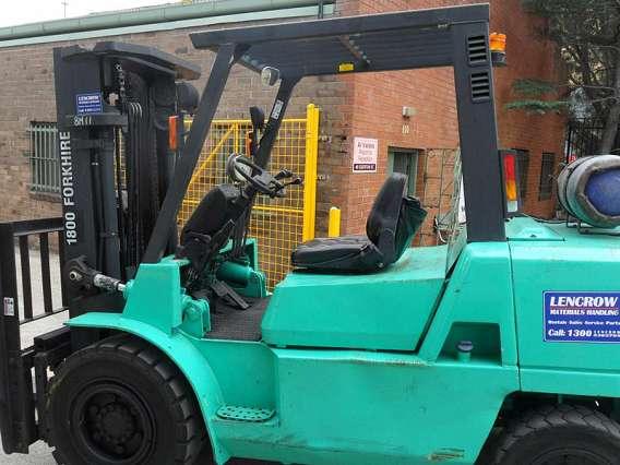 Petrol/LPG Forklift 4500kg