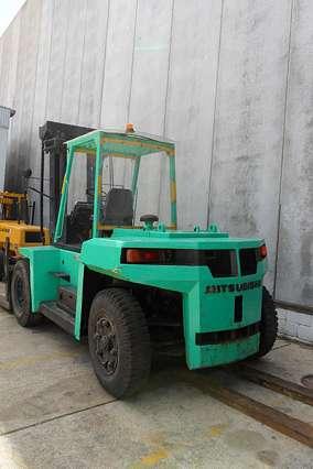 Heavy Capacity Forklift Truck 11,500kg+