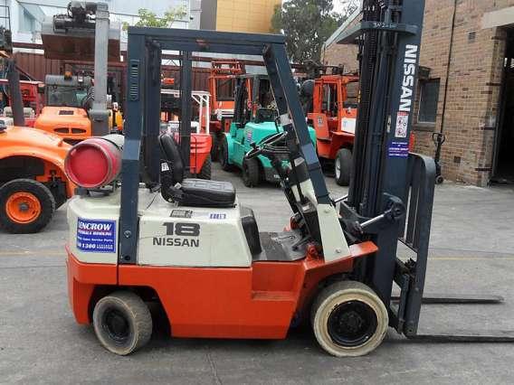 Petrol/LPG Forklift 1800kg+