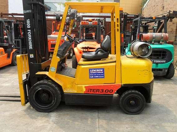 Petrol/LPG Forklift 3000kg