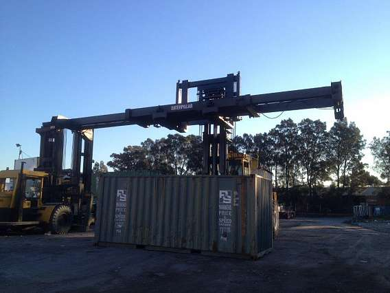 Reach Stacker Forklift Truck