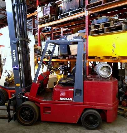 LPG Nissan Forklift