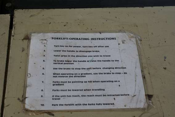 Instructions to Operate