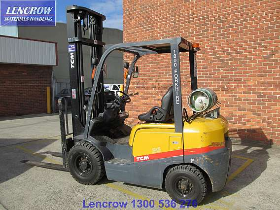 Used TCM Forklift LPG 2500kg