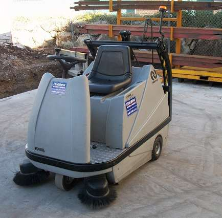Compact Ride On Sweeper