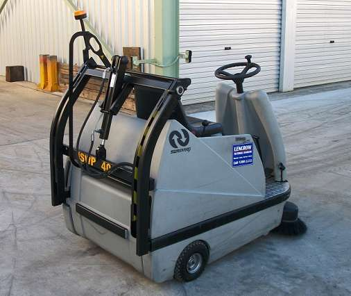 Used Sweeper Ride On