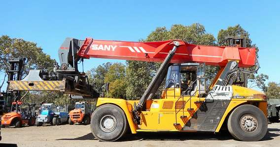 Used Container Forklift Truck