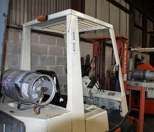 Nissan Stubby Forklift