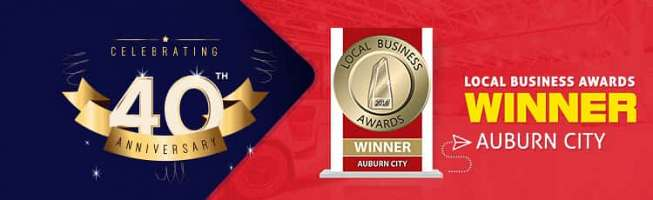 Local Business Awards Winner Auburn City