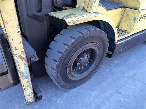 Solid Fork Truck Tyres