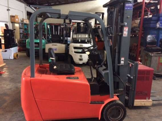 Used EP 2.0T 3 Wheel Forklift