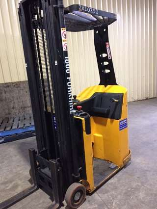 1T Stand on Electric forklift