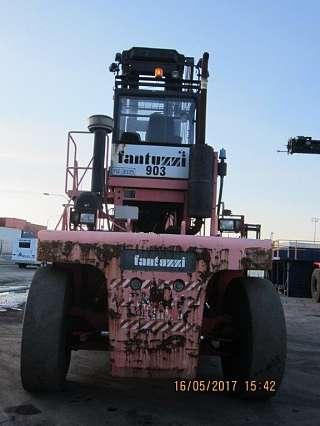 Dedicated 45 000 Kgs Container Handler