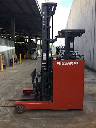 Used 1.8T Nissan Sit Down Reach Truck