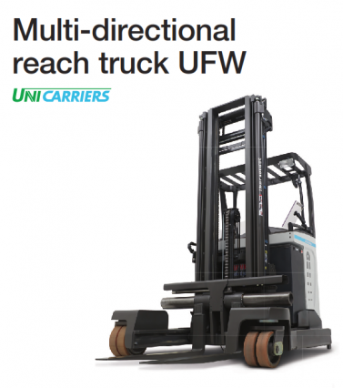 Four Way Reach Truck