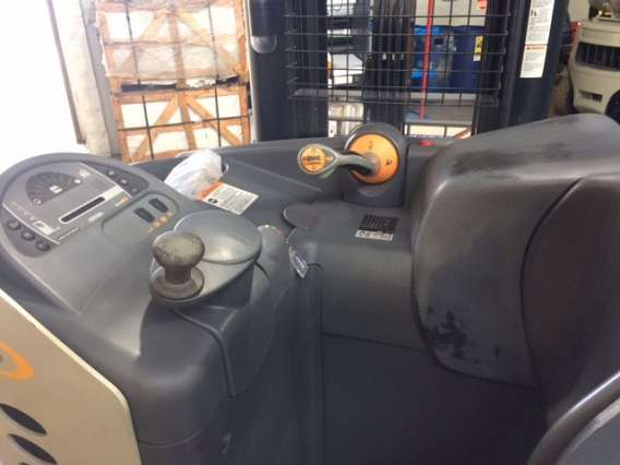 Used Double Deep Crown Reach Truck