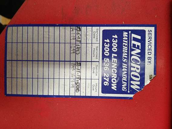 Used Raymond 1250 kgs Walkie Stacker