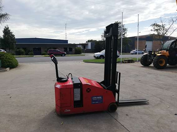 Used 1200 kgs Counterbalanced Walkie Stacker