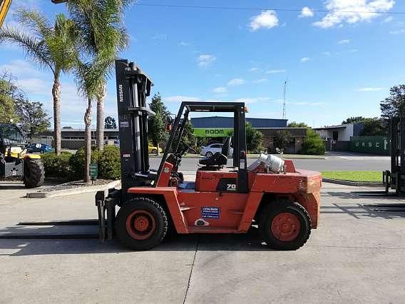Used 7000 kgs Nissan LPG Forklift