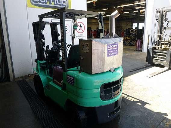 Used 2500 kgs Flameproof Mitsubishi Forklift
