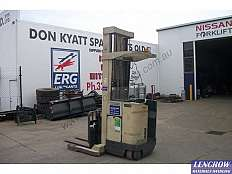 Used Crown Double Deep Reach Electric Forklift