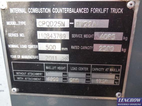 2.5T Forklift