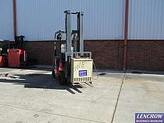 Used Nichiyu Battery Electric Forklift 1800kg
