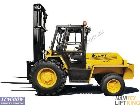 Construction Forklifts 2500 - 5500kg M Series
