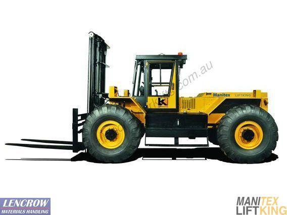 Rough Terrain Forklift 10,000kg P Series