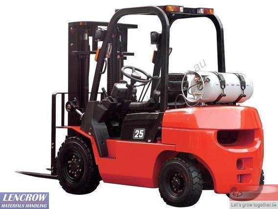 EP R Series LPG Forklift