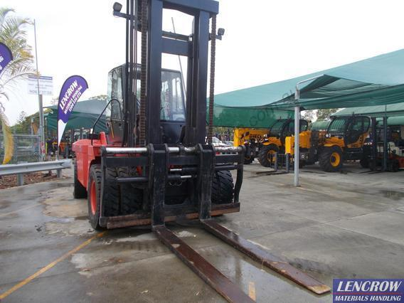 Big Linde Forklift Truck For Sale