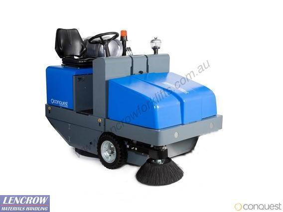 Conquest Industrial Ride On Floor Sweeper PB120