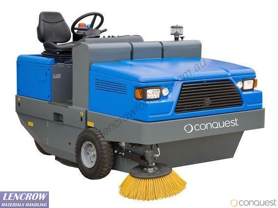 Conquest Industrial Hydraulic Ride On Sweeper PB200