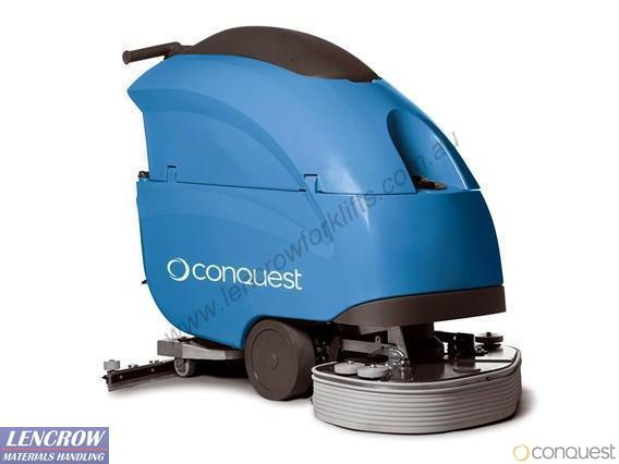 Conquest Heavy Duty Walk Behind Scrubber SMx