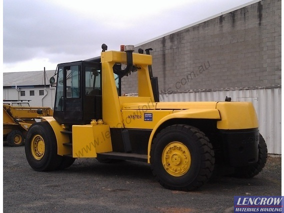 Forklift Truck Container Handler