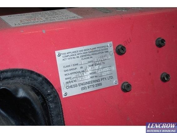Flameproof Forklift