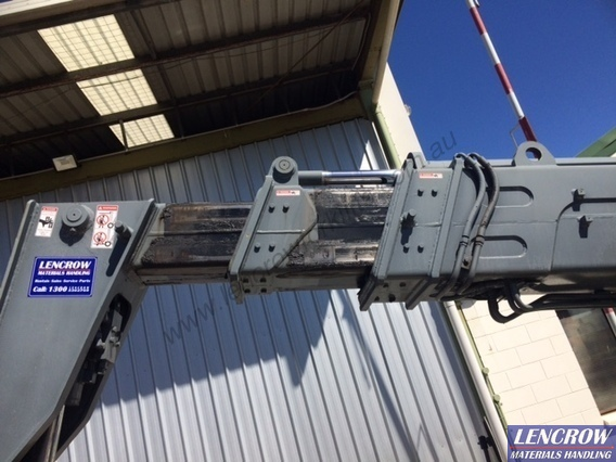 Used All Terrain Terex Telehandler 3000kg